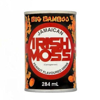 BIG BAMBOO IRISH MOSS PEANUT FLAVOURED DRINK 284ML