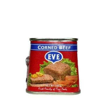 EVE CORNED BEEF 198G