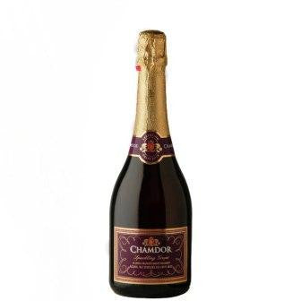 CHAMDOR SPARKLING WINE RED GRAPE 750ML