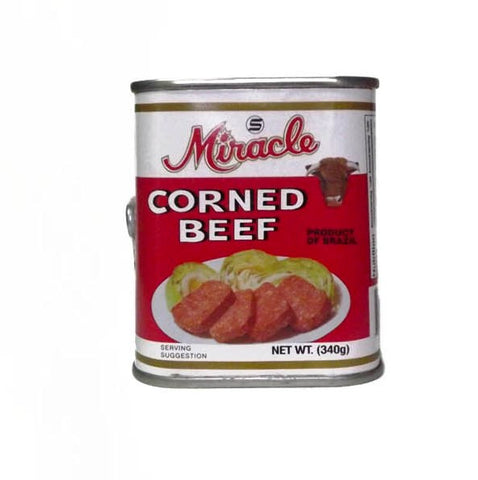MIRACLE CORNED BEEF 340 G