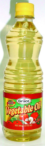 GRACE 100% VEGETABLE OIL 500ML