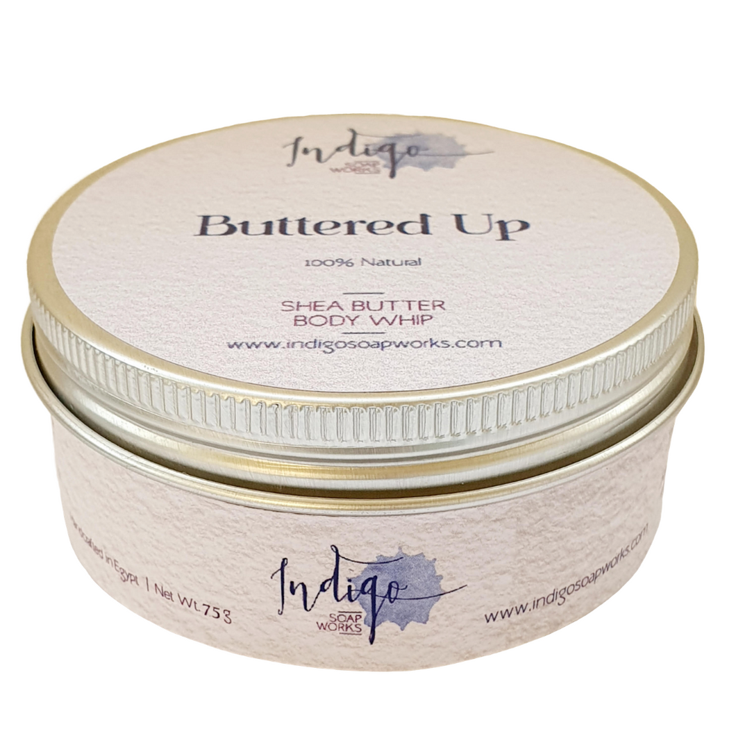 Buttered Up Organic Whipped Shea Butter