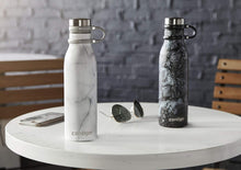 Load image into Gallery viewer, Contigo Couture Vacuum-Insulated Stainless Steel Water Bottle, 590 ML, White Marble