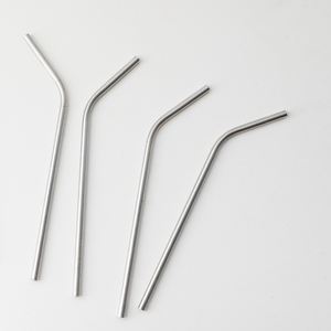 Single Metal Straw, Straight or Bent