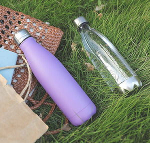 Stainless Steel Vacuum Insulated Bottle, Purple