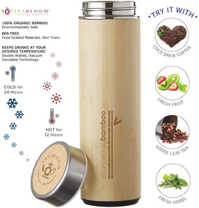 All-Beverage Travel Thermos Mug, 500ml Capacity, The Naturalist