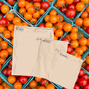 Reusable Produce Bags, S,M,L