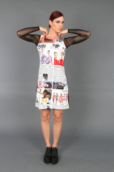 NEWSPAPER2 Dress