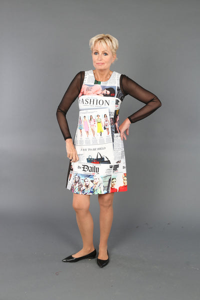 NEWSPAPER1 Dress