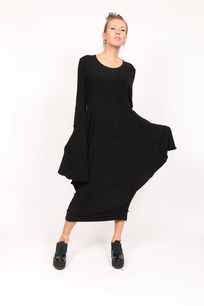Black Long Slinky Dress