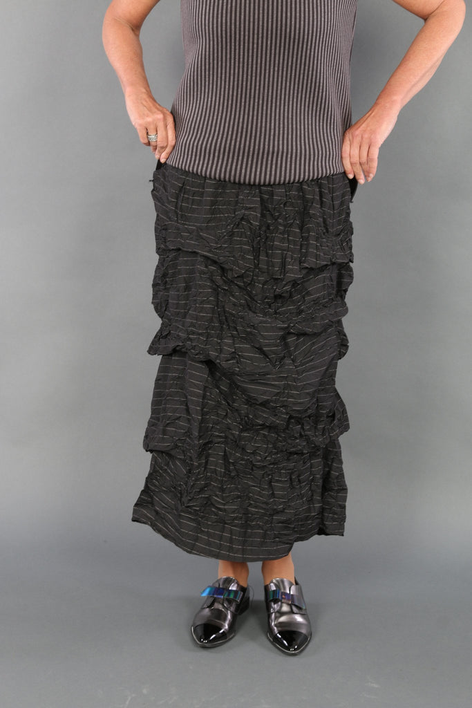 CSS870 Crunch Stripe Skirt