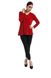Red Slinky Top Plus Size