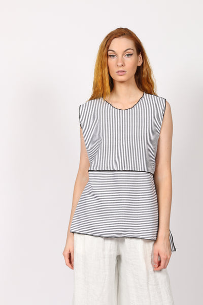 SST5067 Seersucker women top