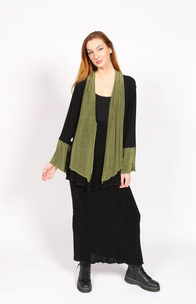 Slinky Jacket Green