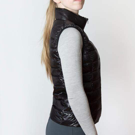 TKEQ Jacket EZ Packable Down Vest- Classic Black equestrian team apparel online tack store mobile tack store custom farm apparel custom show stable clothing equestrian lifestyle horse show clothing riding clothes horses equestrian tack store