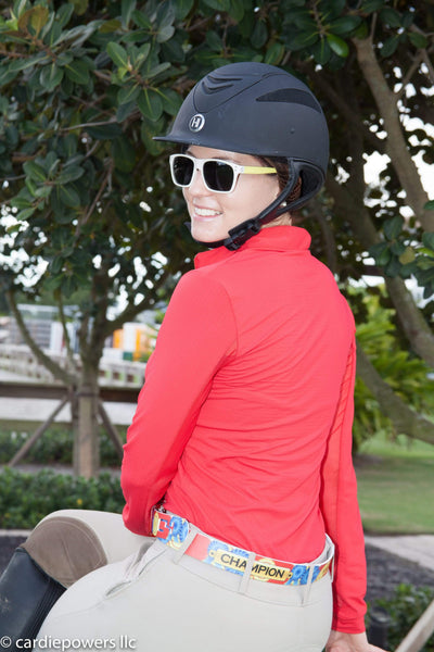 EIS Shirt EIS Red Sunshirt equestrian team apparel online tack store mobile tack store custom farm apparel custom show stable clothing equestrian lifestyle horse show clothing riding clothes horses equestrian tack store
