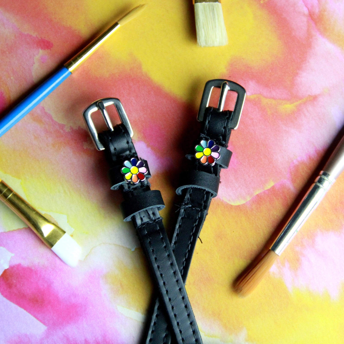 ManeJane Spur Straps Mane Jane Spur Straps / FLOWER POWER equestrian team apparel online tack store mobile tack store custom farm apparel custom show stable clothing equestrian lifestyle horse show clothing riding clothes horses equestrian tack store