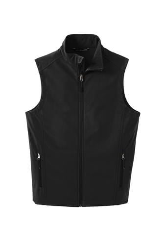 Equestrian Team Apparel Custom Vests Yes / XLarge Soft Shell Vest / Black equestrian team apparel online tack store mobile tack store custom farm apparel custom show stable clothing equestrian lifestyle horse show clothing riding clothes horses equestrian tack store
