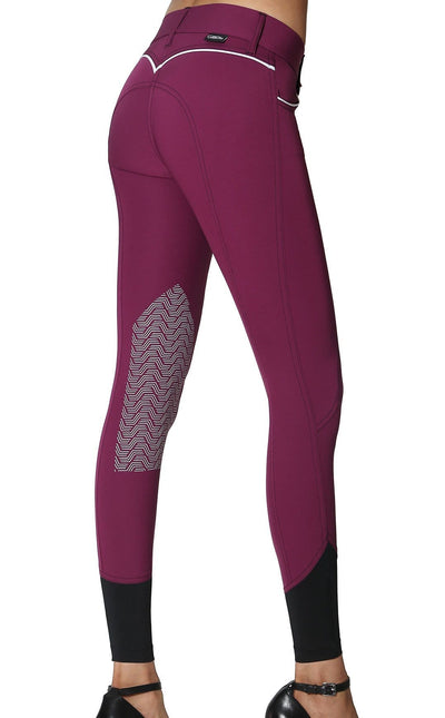GhoDho Breeches 22 / Plum GhoDho Elara Breeches equestrian team apparel online tack store mobile tack store custom farm apparel custom show stable clothing equestrian lifestyle horse show clothing riding clothes horses equestrian tack store