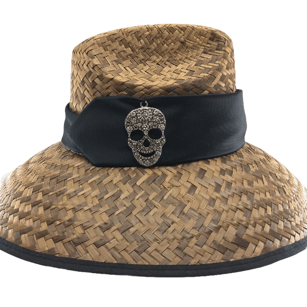Island Girl Sun Hat One Size / Skull Island Girl Hats / Skull equestrian team apparel online tack store mobile tack store custom farm apparel custom show stable clothing equestrian lifestyle horse show clothing riding clothes horses equestrian tack store