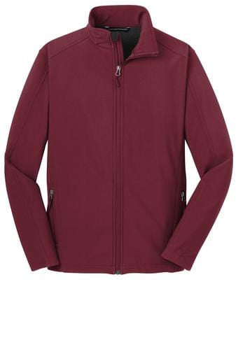 Equestrian Team Apparel Custom Jacket Yes / XLarge Soft Shell Jacket / Maroon equestrian team apparel online tack store mobile tack store custom farm apparel custom show stable clothing equestrian lifestyle horse show clothing riding clothes horses equestrian tack store