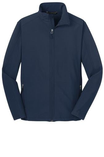 Equestrian Team Apparel Custom Jacket Yes / XLarge Soft Shell Jacket / Dress Blue Navy equestrian team apparel online tack store mobile tack store custom farm apparel custom show stable clothing equestrian lifestyle horse show clothing riding clothes horses equestrian tack store