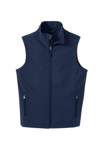 Equestrian Team Apparel Custom Vests Yes / XLarge Soft Shell Vest / Dress Blue Navy equestrian team apparel online tack store mobile tack store custom farm apparel custom show stable clothing equestrian lifestyle horse show clothing riding clothes horses equestrian tack store