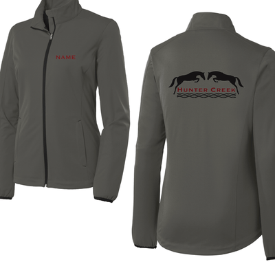 Equestrian Team Apparel Custom Team Jackets Yes / XSmall Hunter Creek Unisex Shell Jacket equestrian team apparel online tack store mobile tack store custom farm apparel custom show stable clothing equestrian lifestyle horse show clothing riding clothes horses equestrian tack store