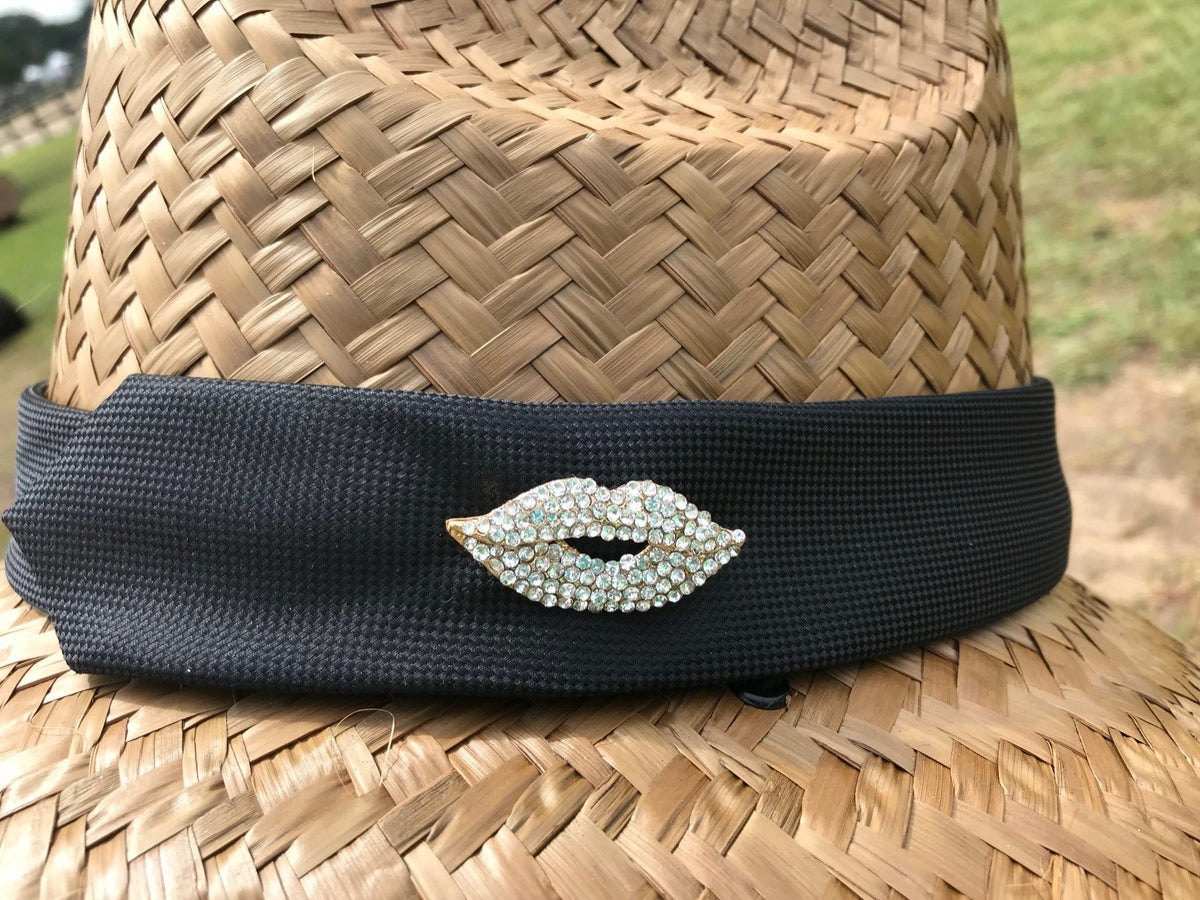Island Girl Sun Hat One Size / Black Diamond Kiss Island Girl Hats / Black Diamond Kiss equestrian team apparel online tack store mobile tack store custom farm apparel custom show stable clothing equestrian lifestyle horse show clothing riding clothes horses equestrian tack store