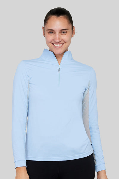 EIS Shirt XSmall / Powder Blue EIS Powder Blue Sunshirt equestrian team apparel online tack store mobile tack store custom farm apparel custom show stable clothing equestrian lifestyle horse show clothing riding clothes horses equestrian tack store