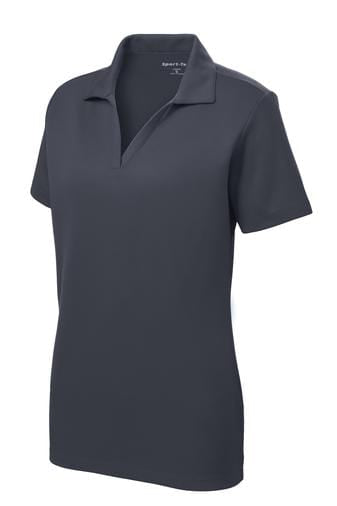 Equestrian Team Apparel Shirts Yes / Large Ladies Polo / Graphite Grey equestrian team apparel online tack store mobile tack store custom farm apparel custom show stable clothing equestrian lifestyle horse show clothing riding clothes horses equestrian tack store