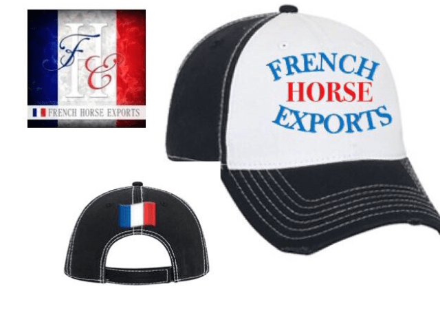 Equestrian Team Apparel Custom Team Hats One Size French Horse Exports baseball cap with logo equestrian team apparel online tack store mobile tack store custom farm apparel custom show stable clothing equestrian lifestyle horse show clothing riding clothes horses equestrian tack store
