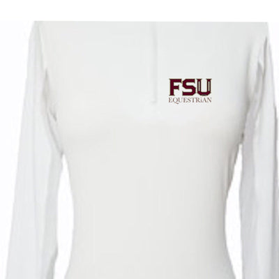 Equestrian Team Apparel Custom Team Shirts Youth / White FSU Equestrian Team equestrian team apparel online tack store mobile tack store custom farm apparel custom show stable clothing equestrian lifestyle horse show clothing riding clothes horses equestrian tack store