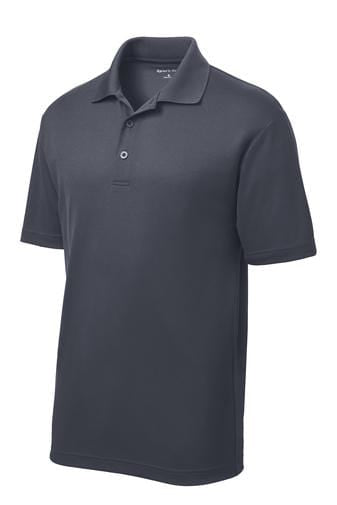 Equestrian Team Apparel Men's Shirts No / Large Men's Polo / Graphite Grey equestrian team apparel online tack store mobile tack store custom farm apparel custom show stable clothing equestrian lifestyle horse show clothing riding clothes horses equestrian tack store
