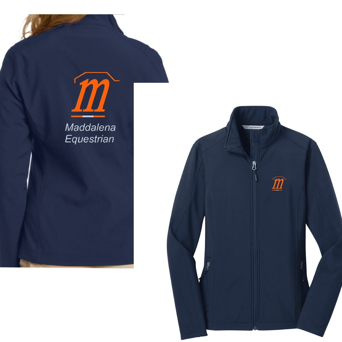 Equestrian Team Apparel Custom Team Jackets Ladies / XSmall Maddalena Rain Coat equestrian team apparel online tack store mobile tack store custom farm apparel custom show stable clothing equestrian lifestyle horse show clothing riding clothes horses equestrian tack store