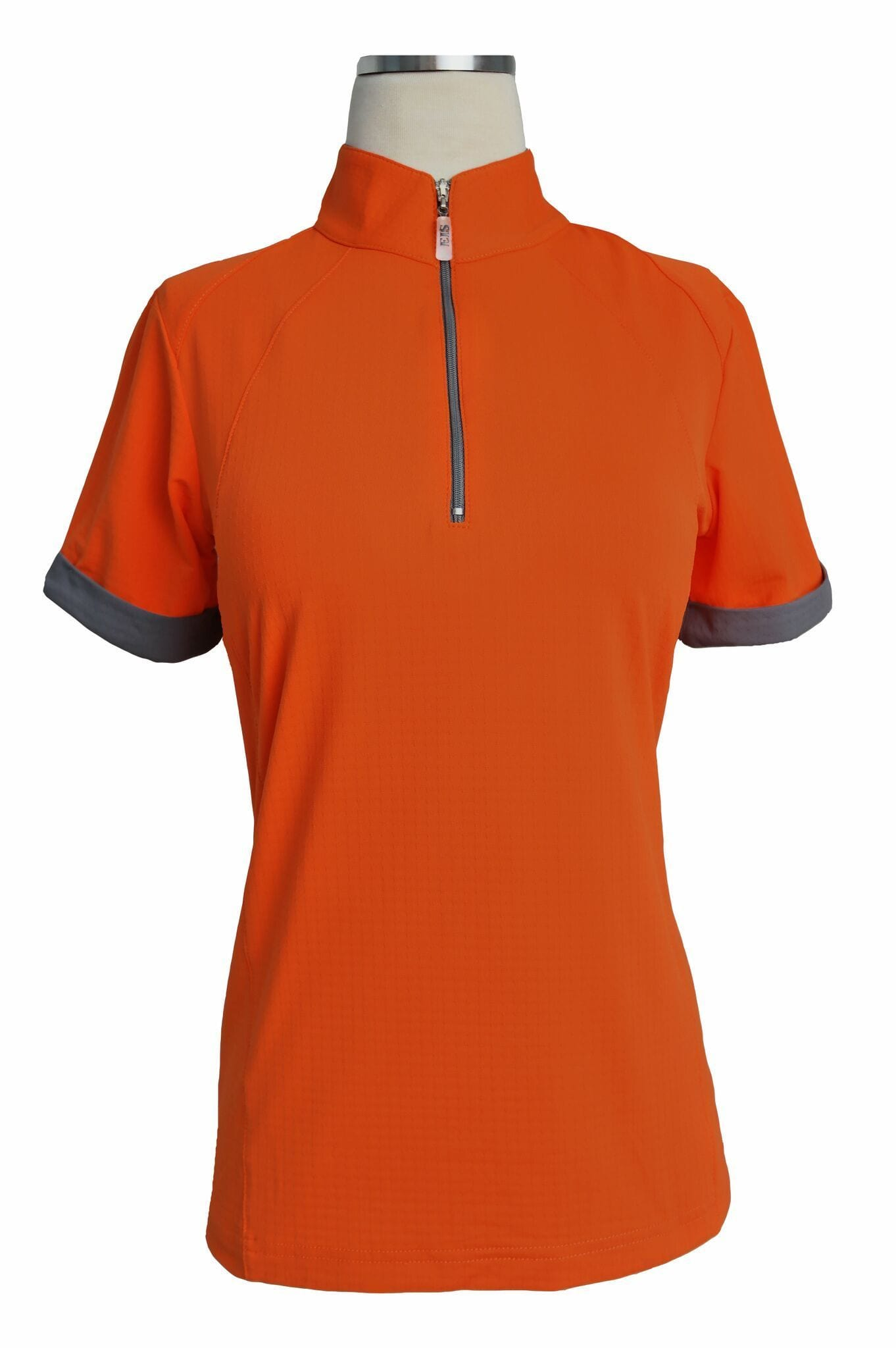 EIS Shirt EIS Orange Paneled Short Sleeve Sunshirts equestrian team apparel online tack store mobile tack store custom farm apparel custom show stable clothing equestrian lifestyle horse show clothing riding clothes horses equestrian tack store