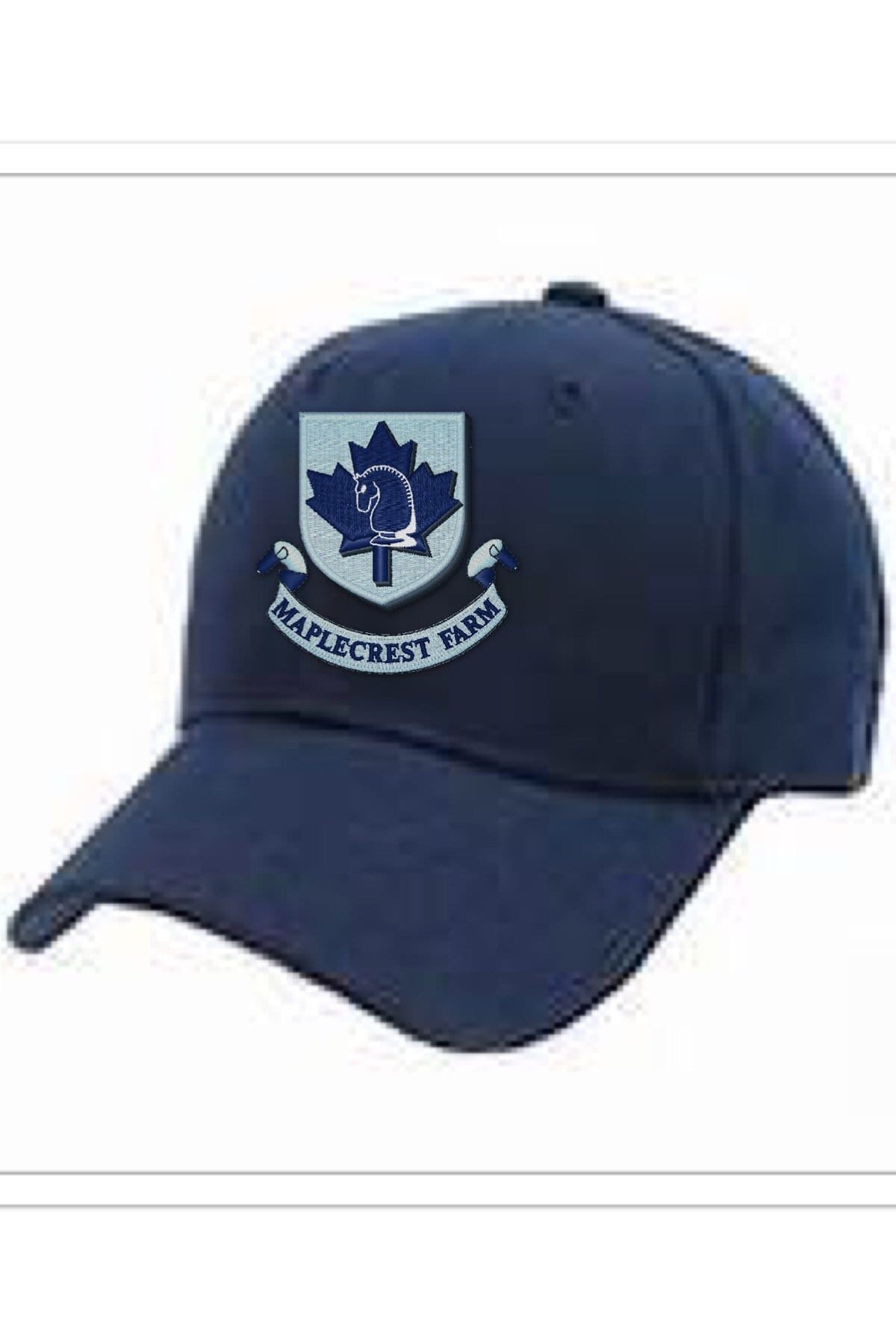 Equestrian Team Apparel Custom Team Hats Maplecrest Farm baseball cap equestrian team apparel online tack store mobile tack store custom farm apparel custom show stable clothing equestrian lifestyle horse show clothing riding clothes horses equestrian tack store