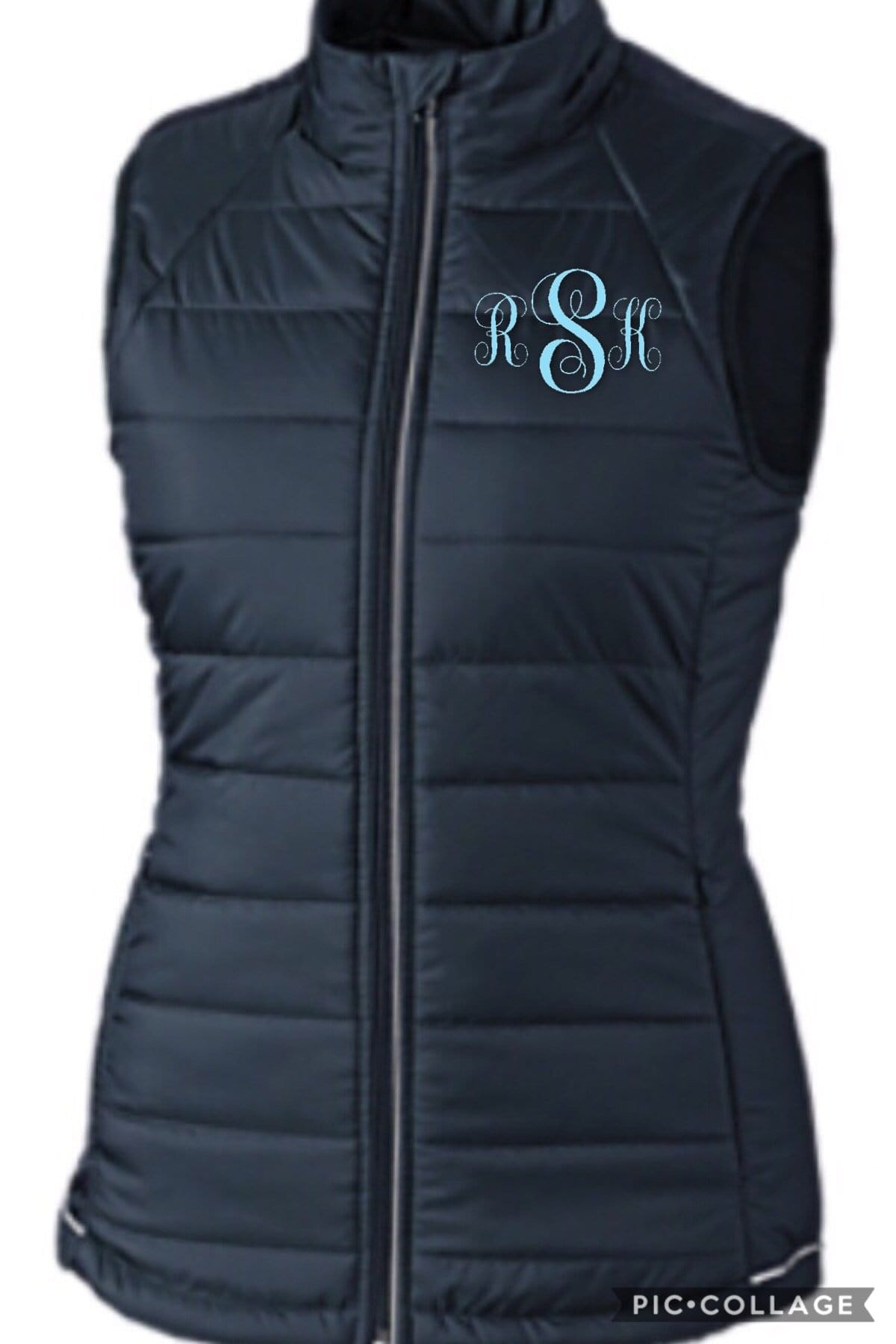 Equestrian Team Apparel Custom Team Jackets XS / Ladies Maplecrest Farm Puffy Vest equestrian team apparel online tack store mobile tack store custom farm apparel custom show stable clothing equestrian lifestyle horse show clothing riding clothes horses equestrian tack store