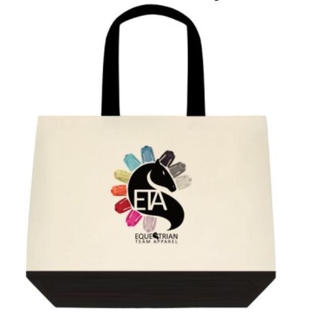 Equestrian Team Apparel Bags ETA Tote equestrian team apparel online tack store mobile tack store custom farm apparel custom show stable clothing equestrian lifestyle horse show clothing riding clothes horses equestrian tack store