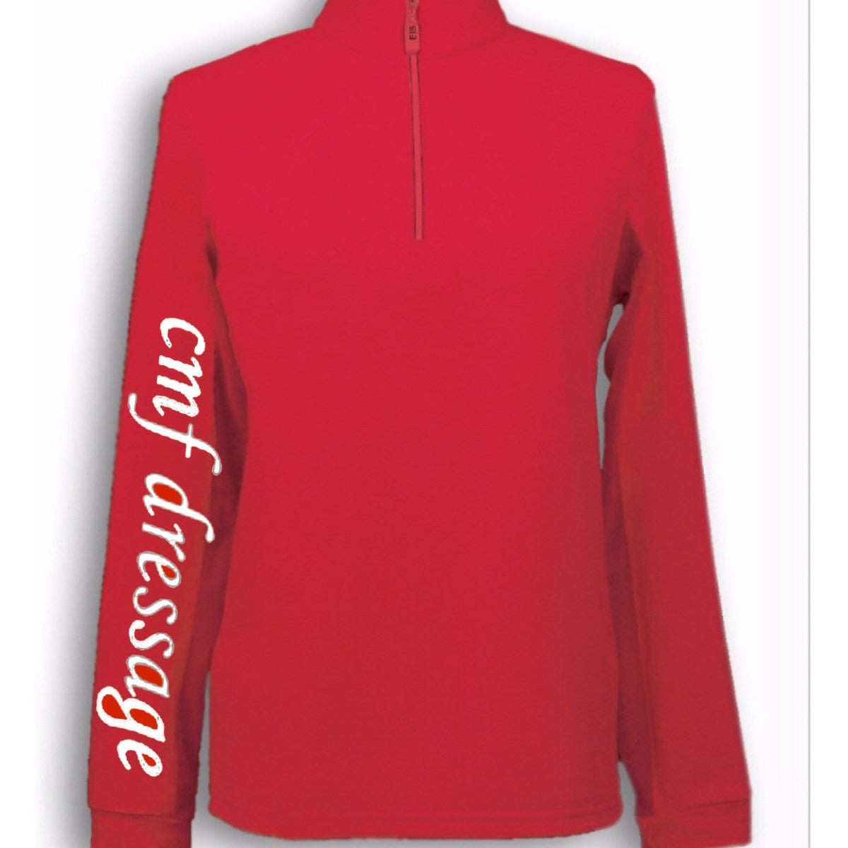 Equestrian Team Apparel Custom Team Shirts XS / Red CMF Dressage equestrian team apparel online tack store mobile tack store custom farm apparel custom show stable clothing equestrian lifestyle horse show clothing riding clothes horses equestrian tack store