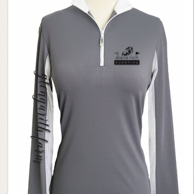Equestrian Team Apparel Custom Team Shirts Youth / Black / White Diana Rich Eventing/ Glengarith Farm equestrian team apparel online tack store mobile tack store custom farm apparel custom show stable clothing equestrian lifestyle horse show clothing riding clothes horses equestrian tack store