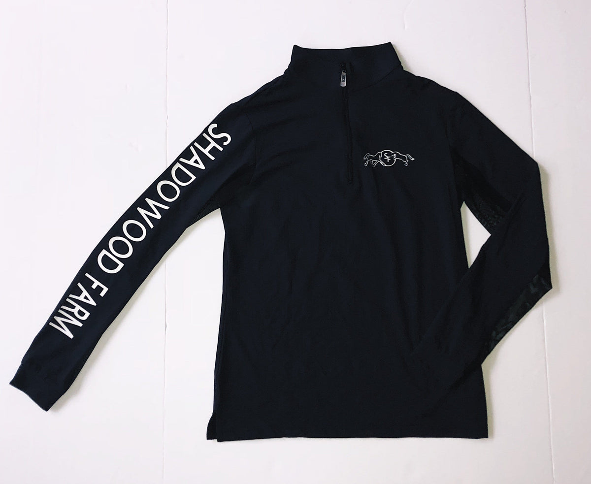 Equestrian Team Apparel Custom Team Shirts XS / Black Shadowood Farm equestrian team apparel online tack store mobile tack store custom farm apparel custom show stable clothing equestrian lifestyle horse show clothing riding clothes horses equestrian tack store