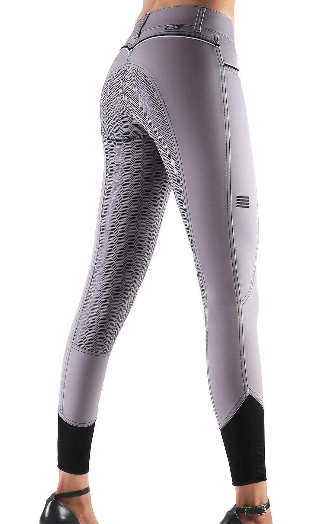 GhoDho Breeches sz 30 / light grey GhoDho Adena Full Seat Breeches equestrian team apparel online tack store mobile tack store custom farm apparel custom show stable clothing equestrian lifestyle horse show clothing riding clothes horses equestrian tack store