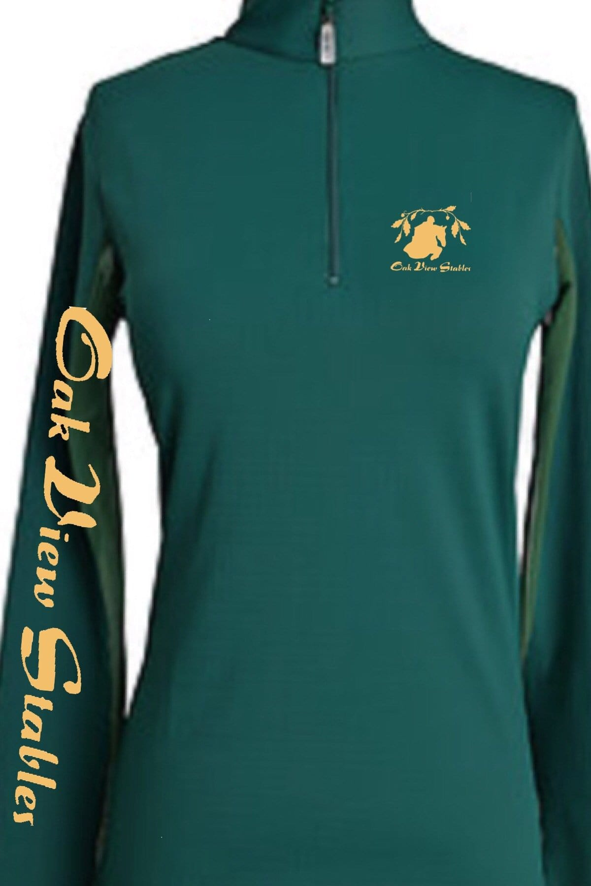 Equestrian Team Apparel Custom Team Shirts Youth / White Oak View Stables equestrian team apparel online tack store mobile tack store custom farm apparel custom show stable clothing equestrian lifestyle horse show clothing riding clothes horses equestrian tack store