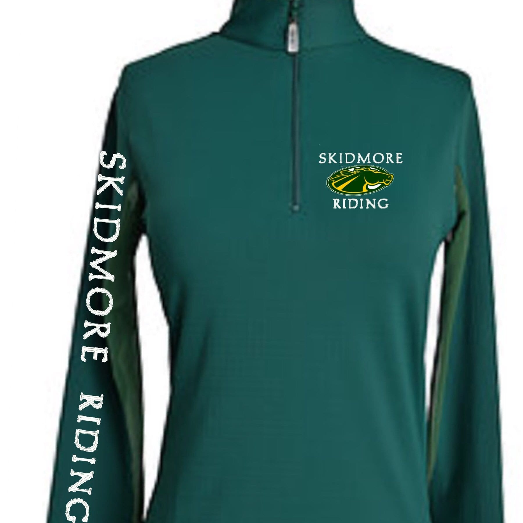 Equestrian Team Apparel Custom Team Shirts XS Skidmore College equestrian team apparel online tack store mobile tack store custom farm apparel custom show stable clothing equestrian lifestyle horse show clothing riding clothes horses equestrian tack store
