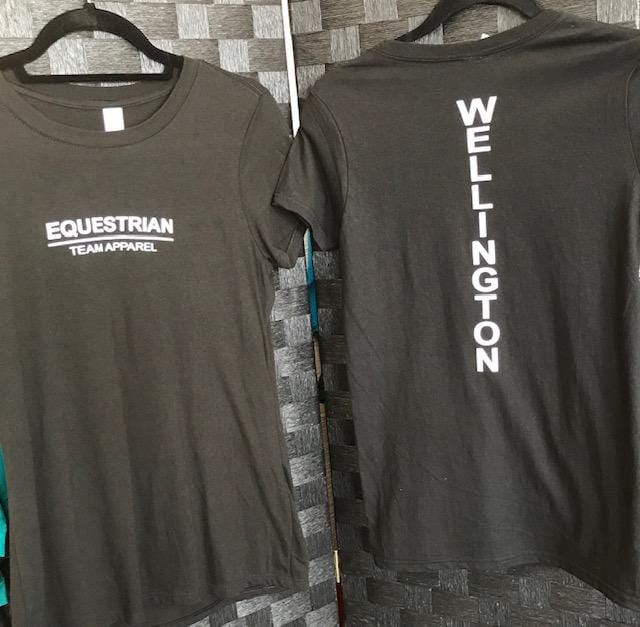 Equestrian Team Apparel Graphic Tees XS Wellington Graphic Tee - ETA equestrian team apparel online tack store mobile tack store custom farm apparel custom show stable clothing equestrian lifestyle horse show clothing riding clothes horses equestrian tack store