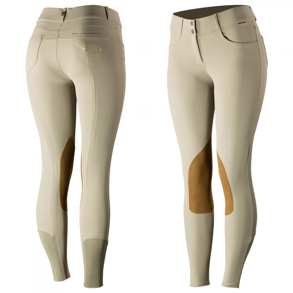 Horze Breeches B Vertigo Women's Kimberley Show Knee Patch Breeches - Leather Patches equestrian team apparel online tack store mobile tack store custom farm apparel custom show stable clothing equestrian lifestyle horse show clothing riding clothes horses equestrian tack store