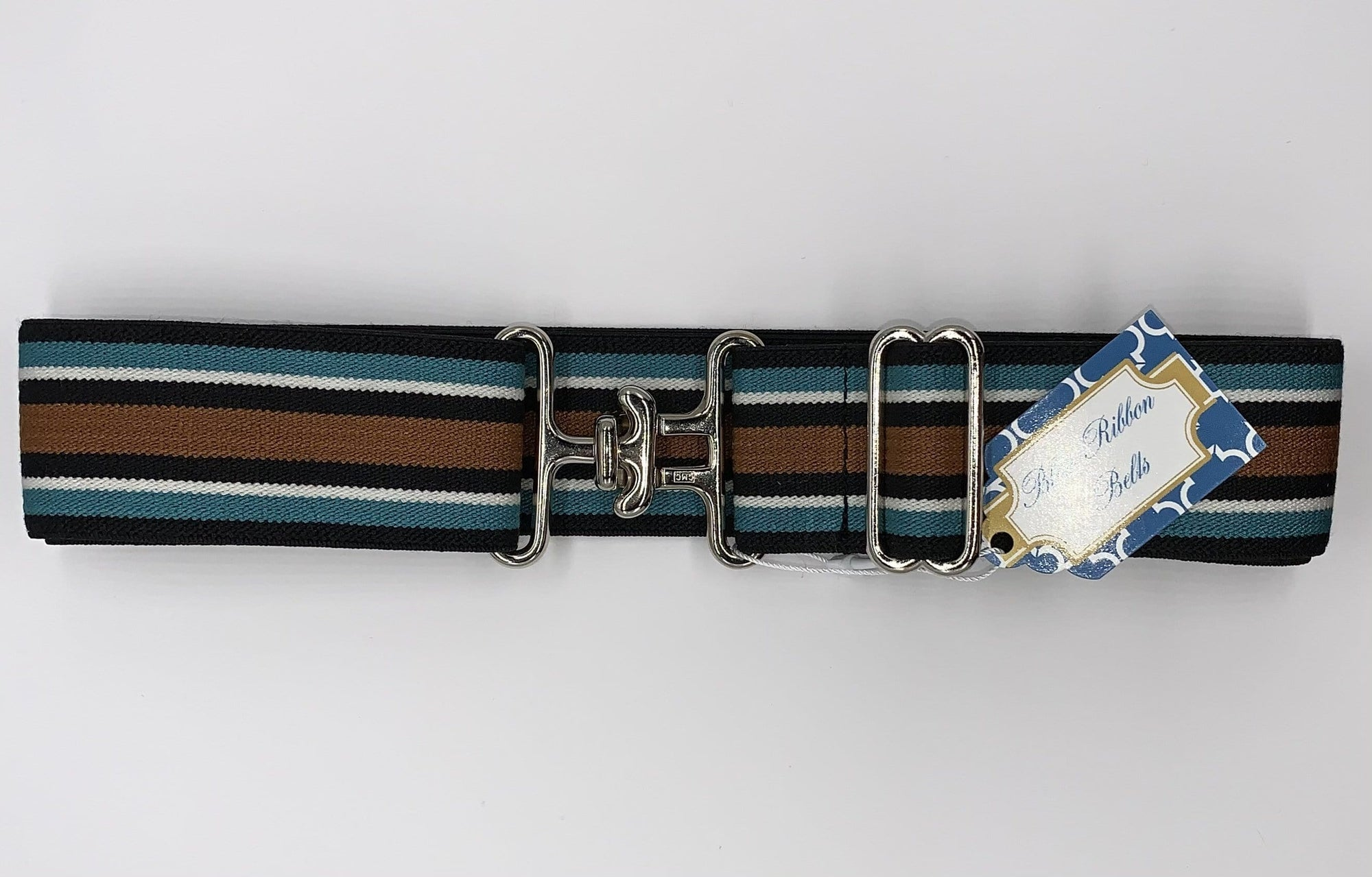Blue Ribbon Belts Belt Black Multi Color Stripe Belt 1.5 Inch equestrian team apparel online tack store mobile tack store custom farm apparel custom show stable clothing equestrian lifestyle horse show clothing riding clothes horses equestrian tack store