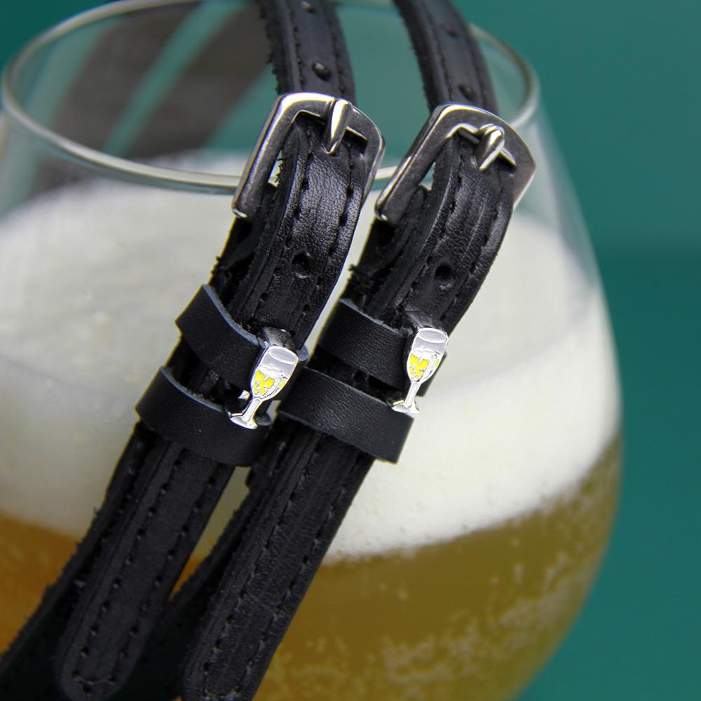 ManeJane Black Spur Straps Champagne Spur Straps equestrian team apparel online tack store mobile tack store custom farm apparel custom show stable clothing equestrian lifestyle horse show clothing riding clothes horses equestrian tack store