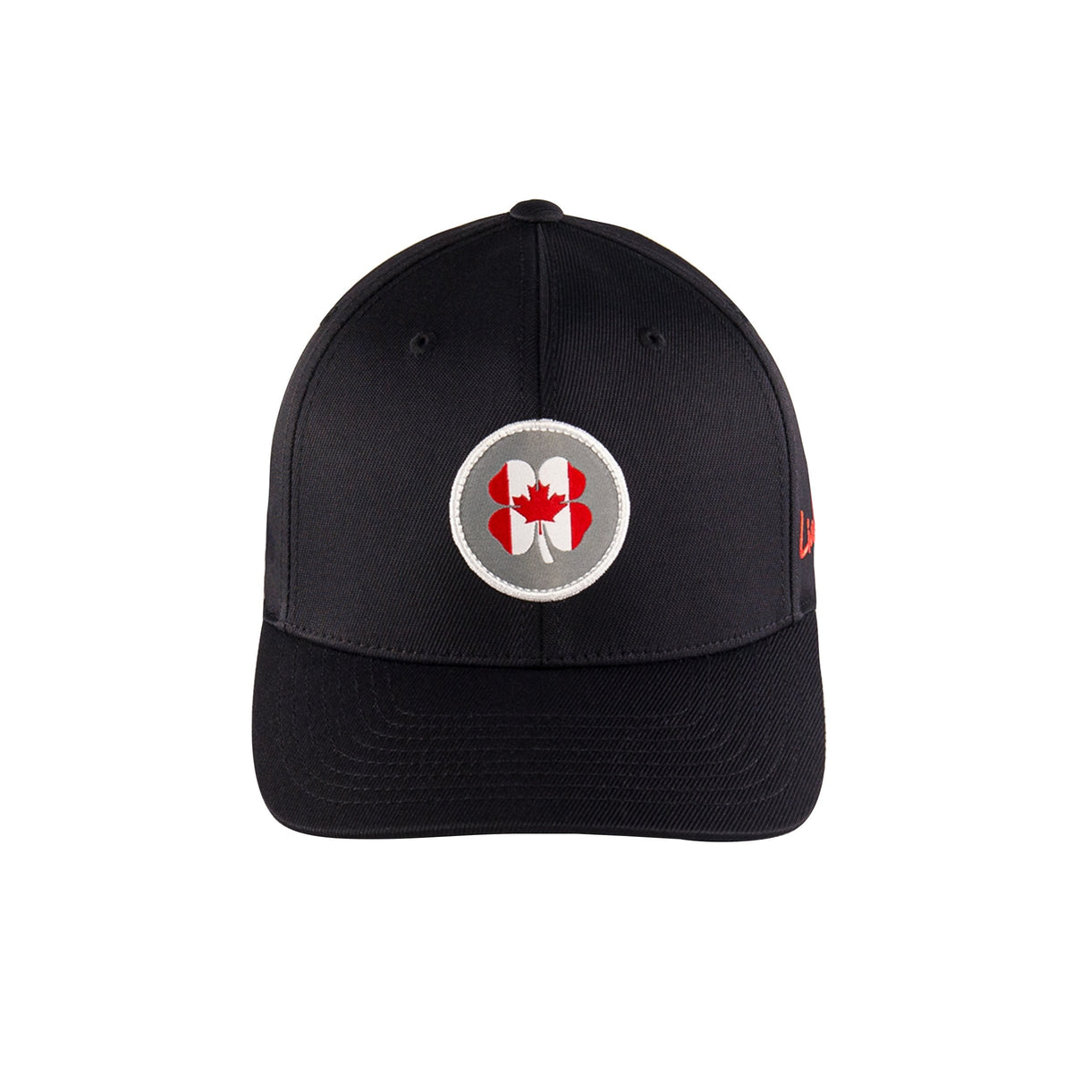 Black Clover Baseball Caps Canada Flag Nation - Snapback equestrian team apparel online tack store mobile tack store custom farm apparel custom show stable clothing equestrian lifestyle horse show clothing riding clothes horses equestrian tack store